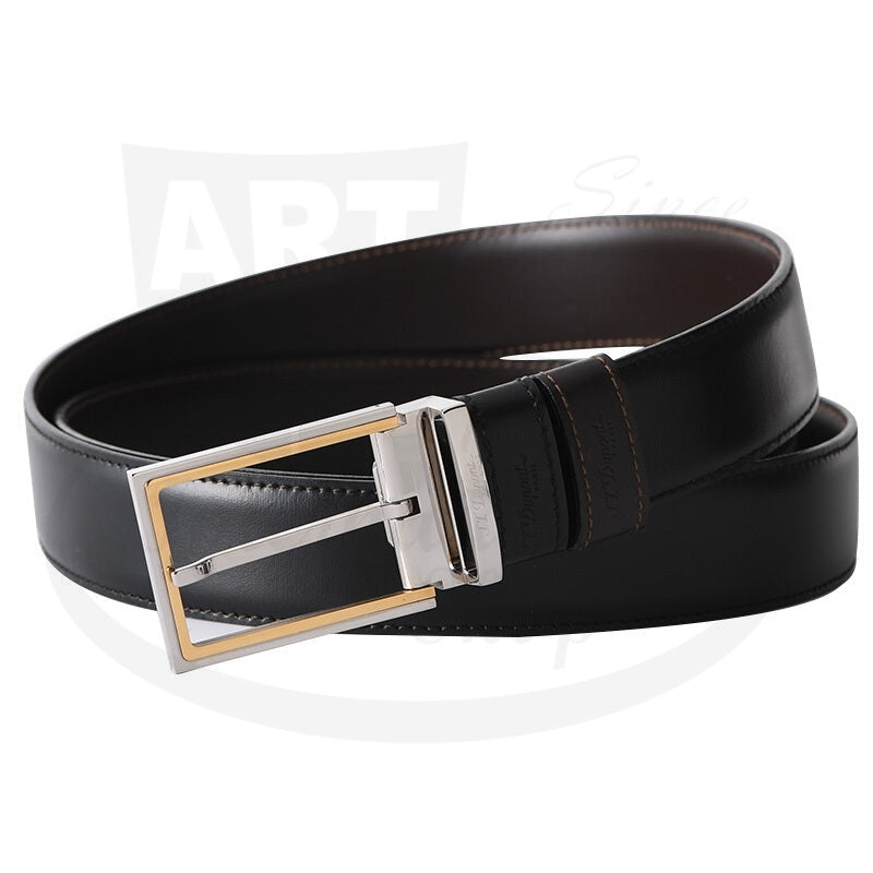 ST Dupont Duo Delta Box Reversible Belt