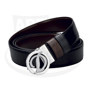 ST Dupont Duo Black and Brown Reversible Belt