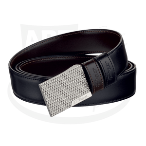 ST Dupont Auto Reversible Fire Head Black and Brown Belt