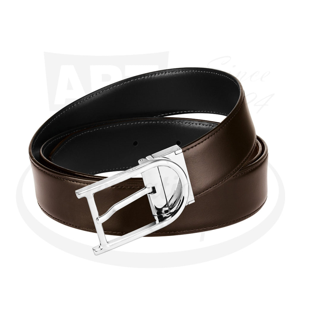 ST Dupont Auto Reversible D Buckle Belt