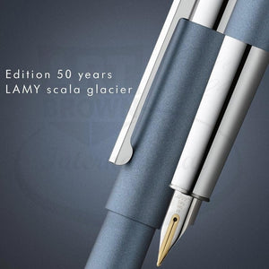 Lamy Scala Pen - Glacier - Ballpoint or Fountain Pen