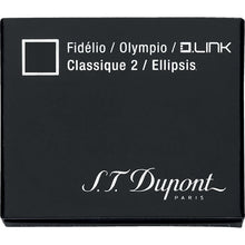 Load image into Gallery viewer, st dupont black ink fountain pen cartridge