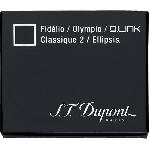 st dupont black ink fountain pen cartridge