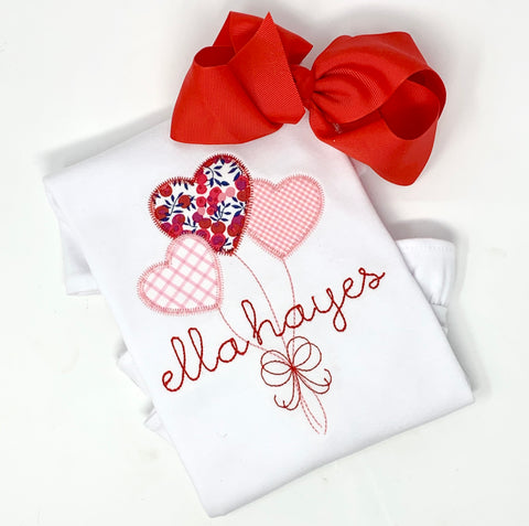 Valentines Heart Balloon Shirt