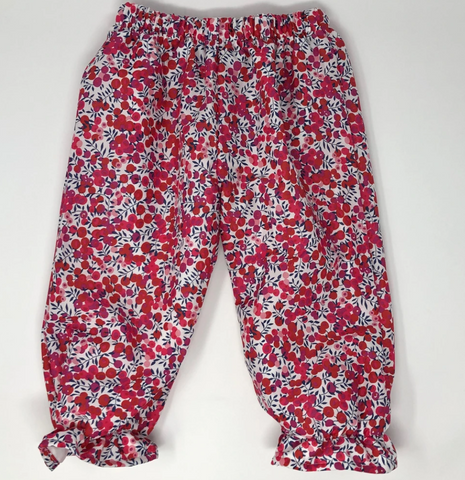 Whiltshire Red Liberty Bottoms (Multiple Styles)
