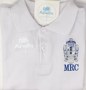 R2D2 Boy's Collared Shirt