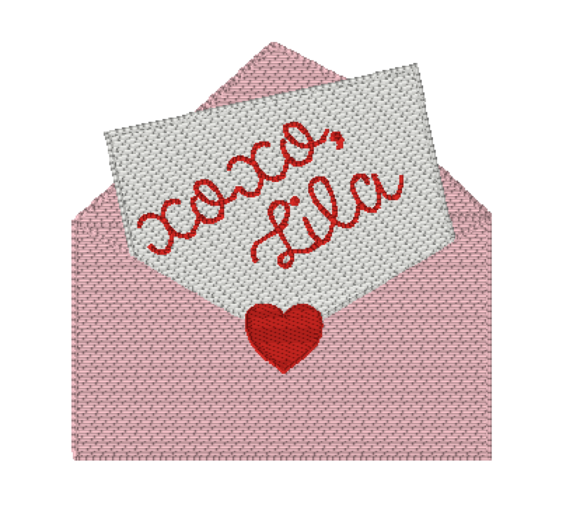 Valentine's Girl XOXO Envelope Shirt