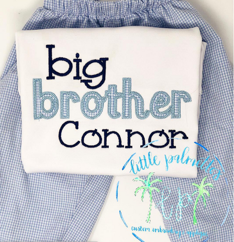 Big Brother/Sister Shirt