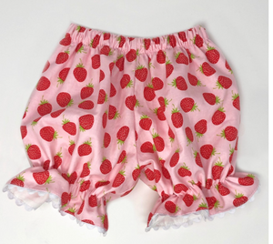 Strawberry Pantaloon Bloomers
