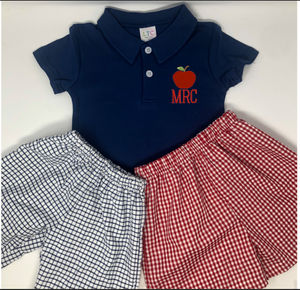 Apple Initial Polo