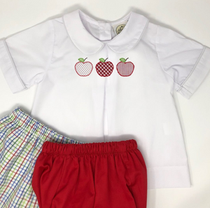 Apple Trio Pleat Shirt