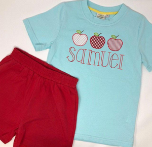 Apple Trio on Tshirt