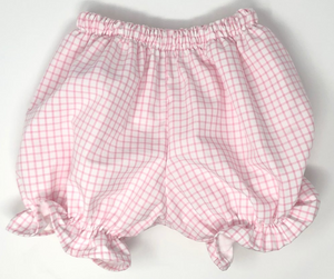 Girl Windowpane Bottoms (Multiple Styles)