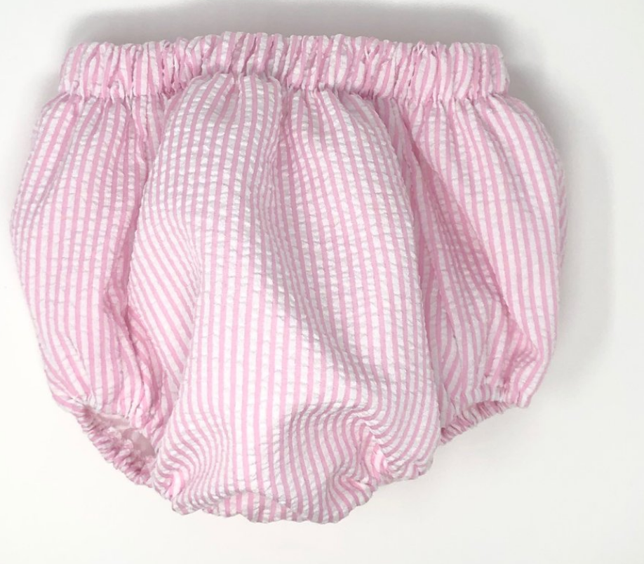 Unisex Seersucker Diaper Cover