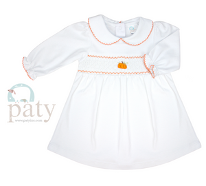 Smock Pumpkin Dress