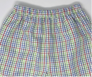 Multicolor Gingham Pants (Multiple Styles)