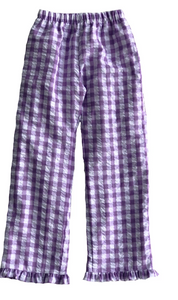 Seersucker Plaid Pant (Multiple Styles)