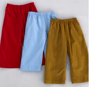 Cord Straight Pant