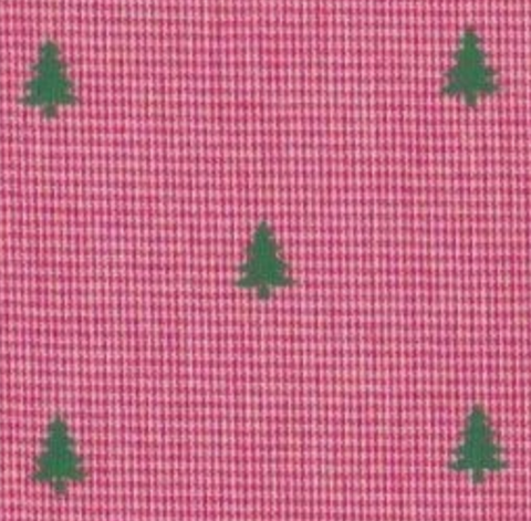 Christmas Tree Red Gingham Girl Bottoms (multiple styles)