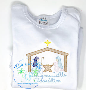 Boy Nativity Scene Shirt