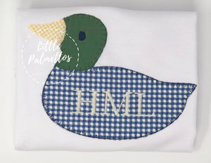 Boy's Duck Applique Shirt