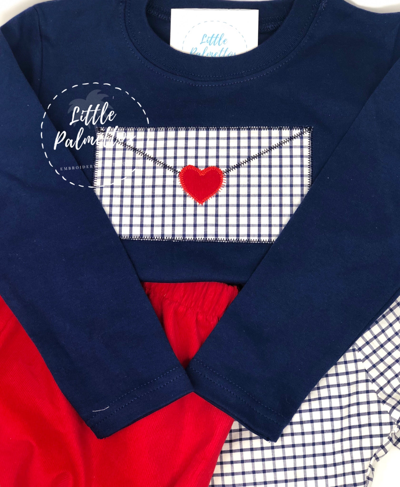 Boys Envelope Valentine's Shirt
