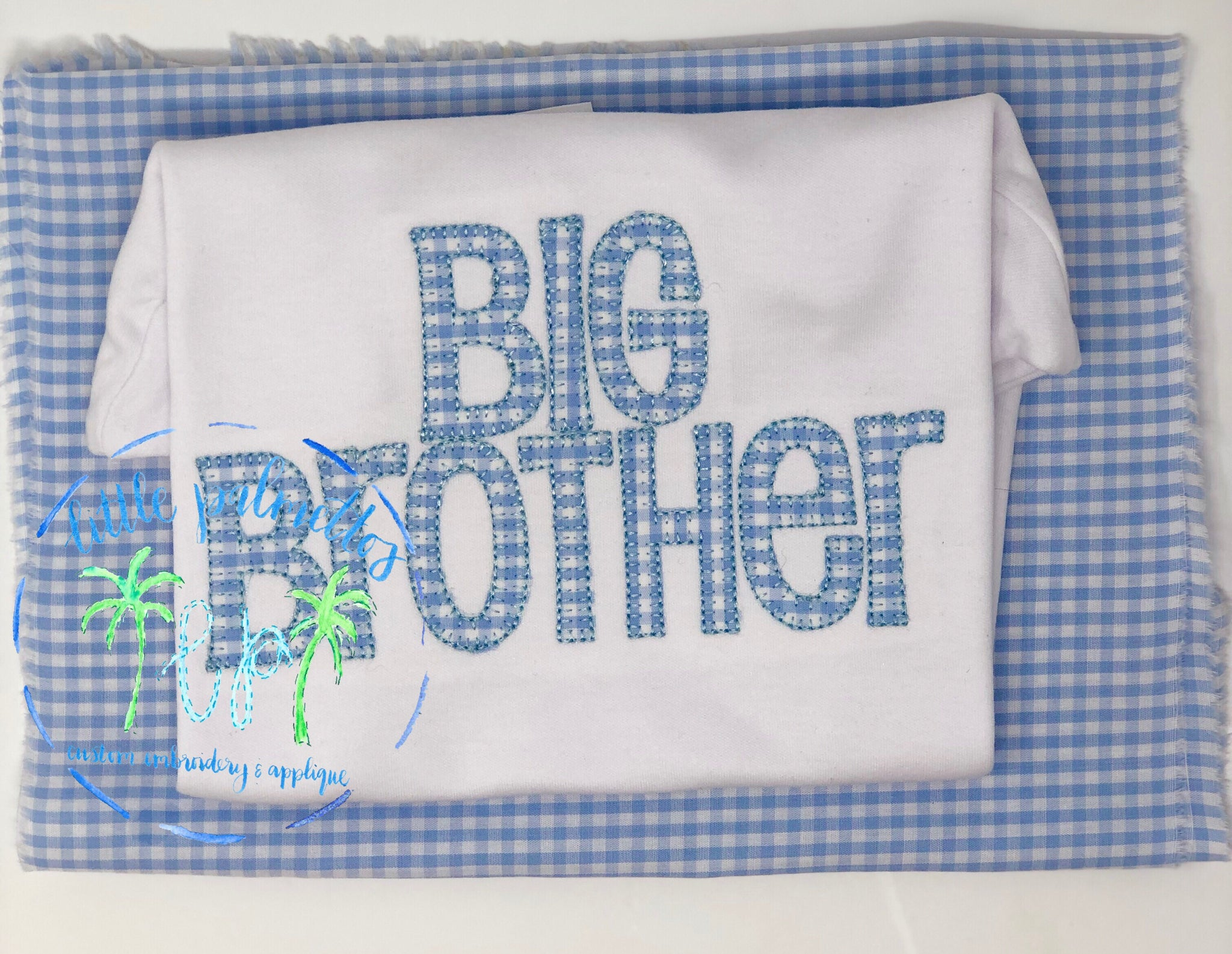Big Brother/Sister Applique Shirt
