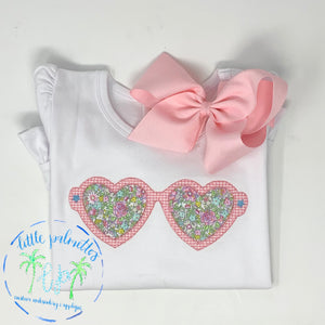 Heart Sunglasses Shirt