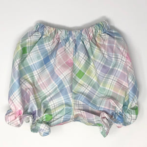 Spring Plaid Pantaloon Bloomer