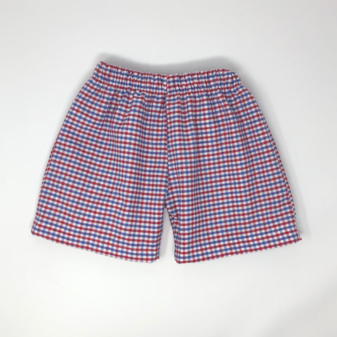 Boy Gameday Straight Shorts (Multiple Team Choices)