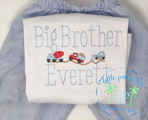Big Brother Construction Shirt