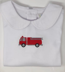 Firetruck Peter Pan Shirt