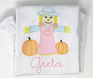 Girl Scarecrow Shirt