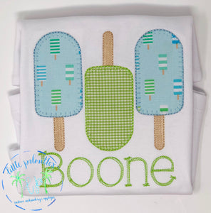 Boy Popsicle Shirt