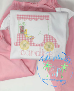 Girl Golf Cart shirt