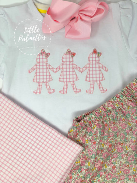 Papergirl Dolls with Bows Shirt