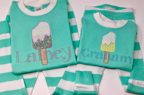 Popsicle Shirt (white unless otherwise stated)