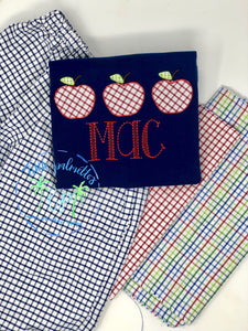 Boy Apple Trio Shirt