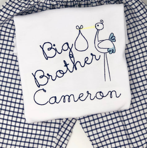 Big Brother/Sister Stork Shirt