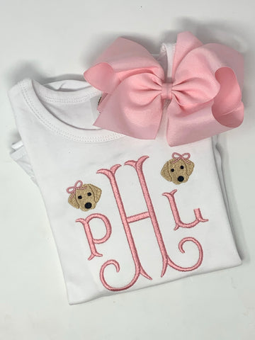 Girl Dog Head Shirt