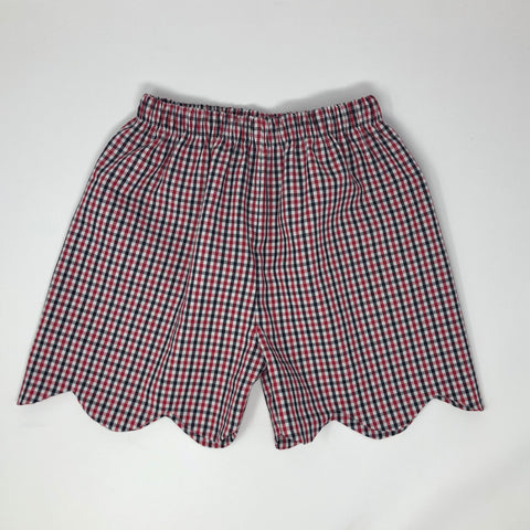 Girl Gameday Scallop Short (Multiple Team Choices)