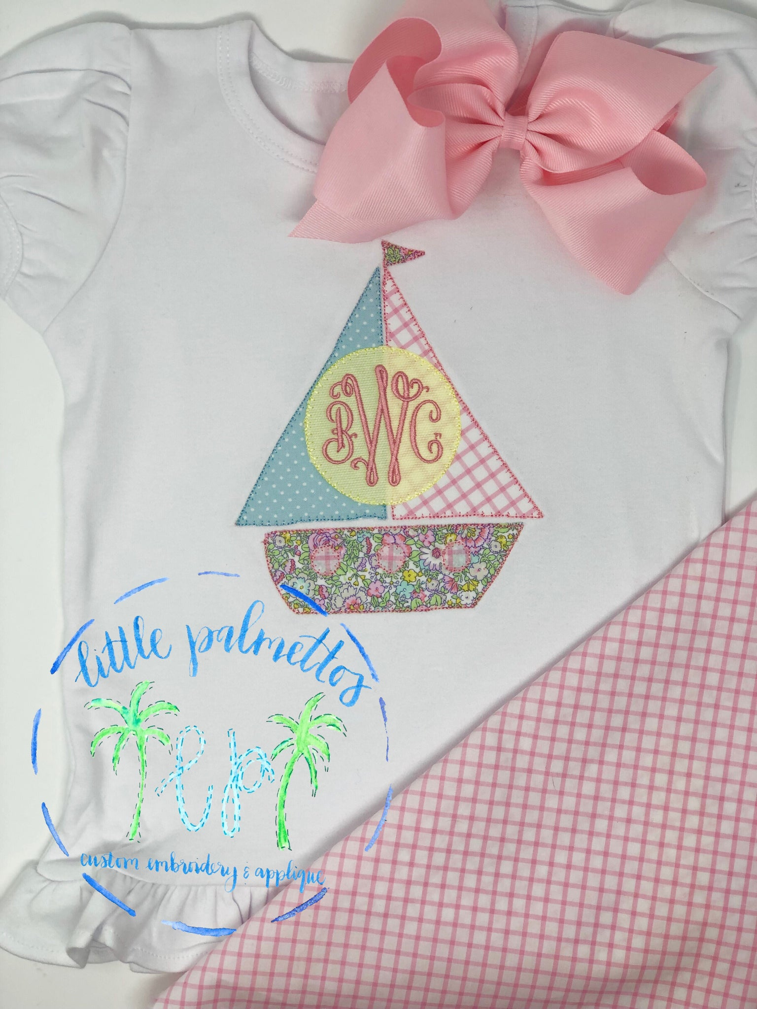 Girl Sailboat Shirt