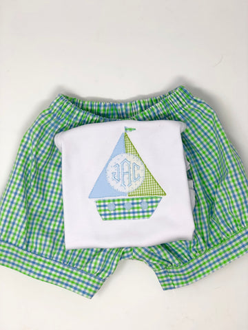 Boy Sailboat Shirt