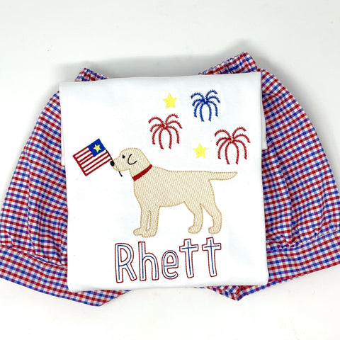 Dog Firework Shirt