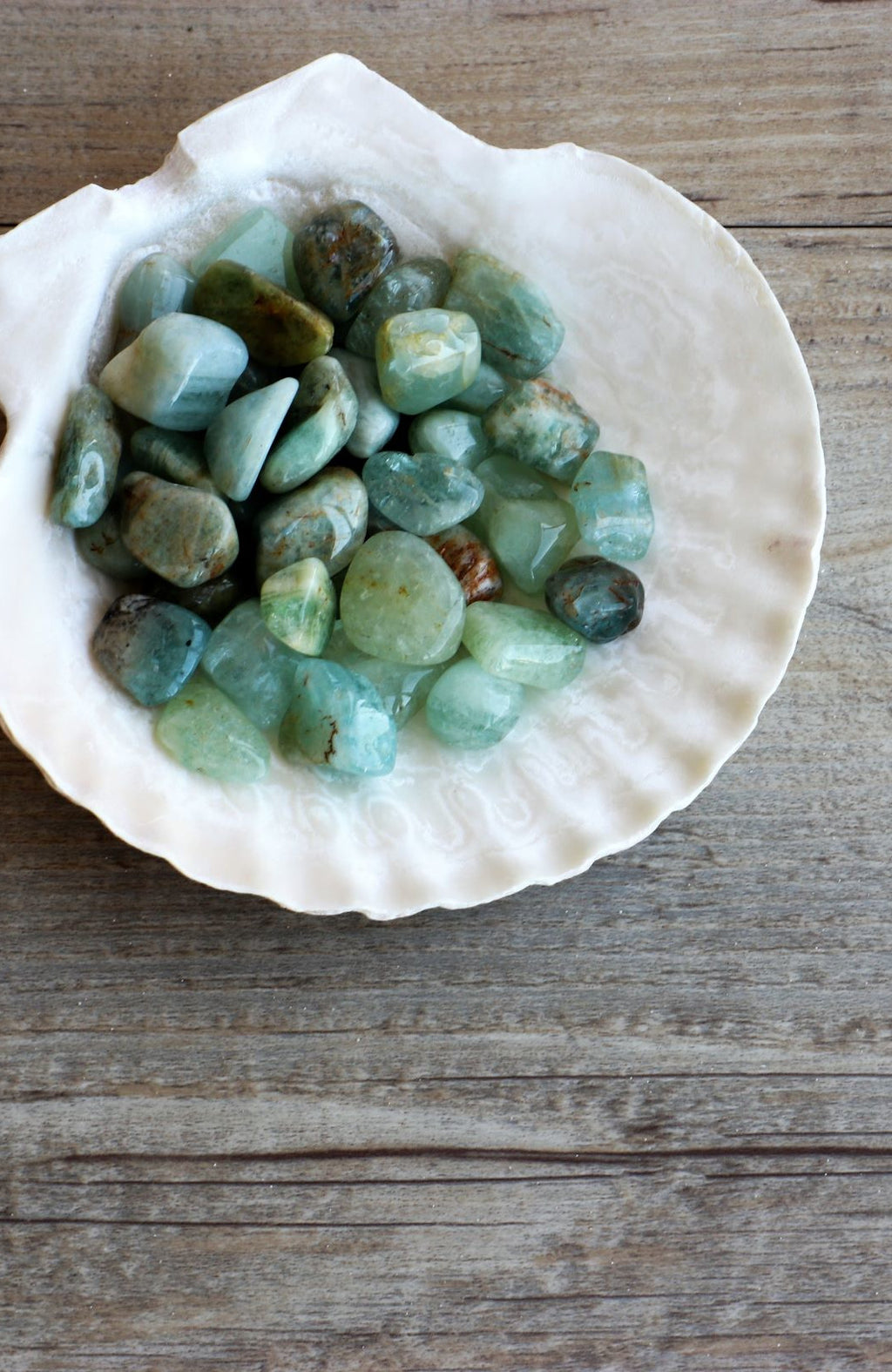 Aquamarine Tumbled Stone (Pack of 6)