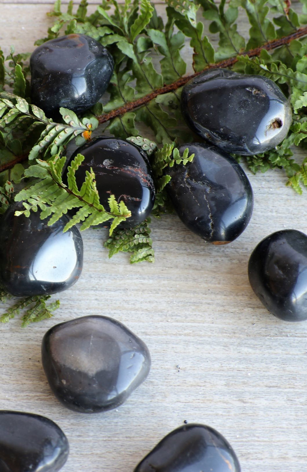Black Onyx Tumbled Stone (Pack of 6)