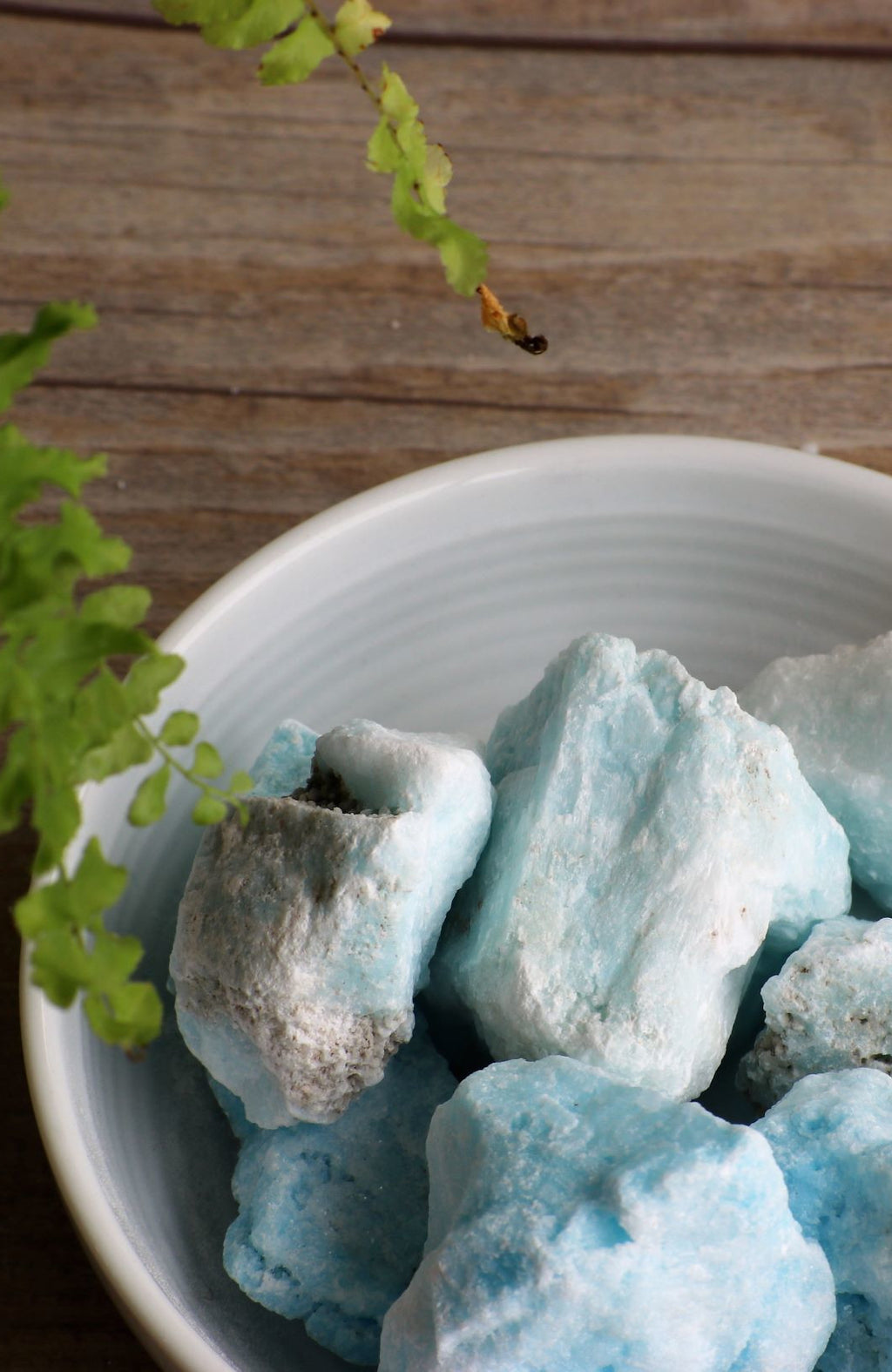 Blue Aragonite Raw Chunks