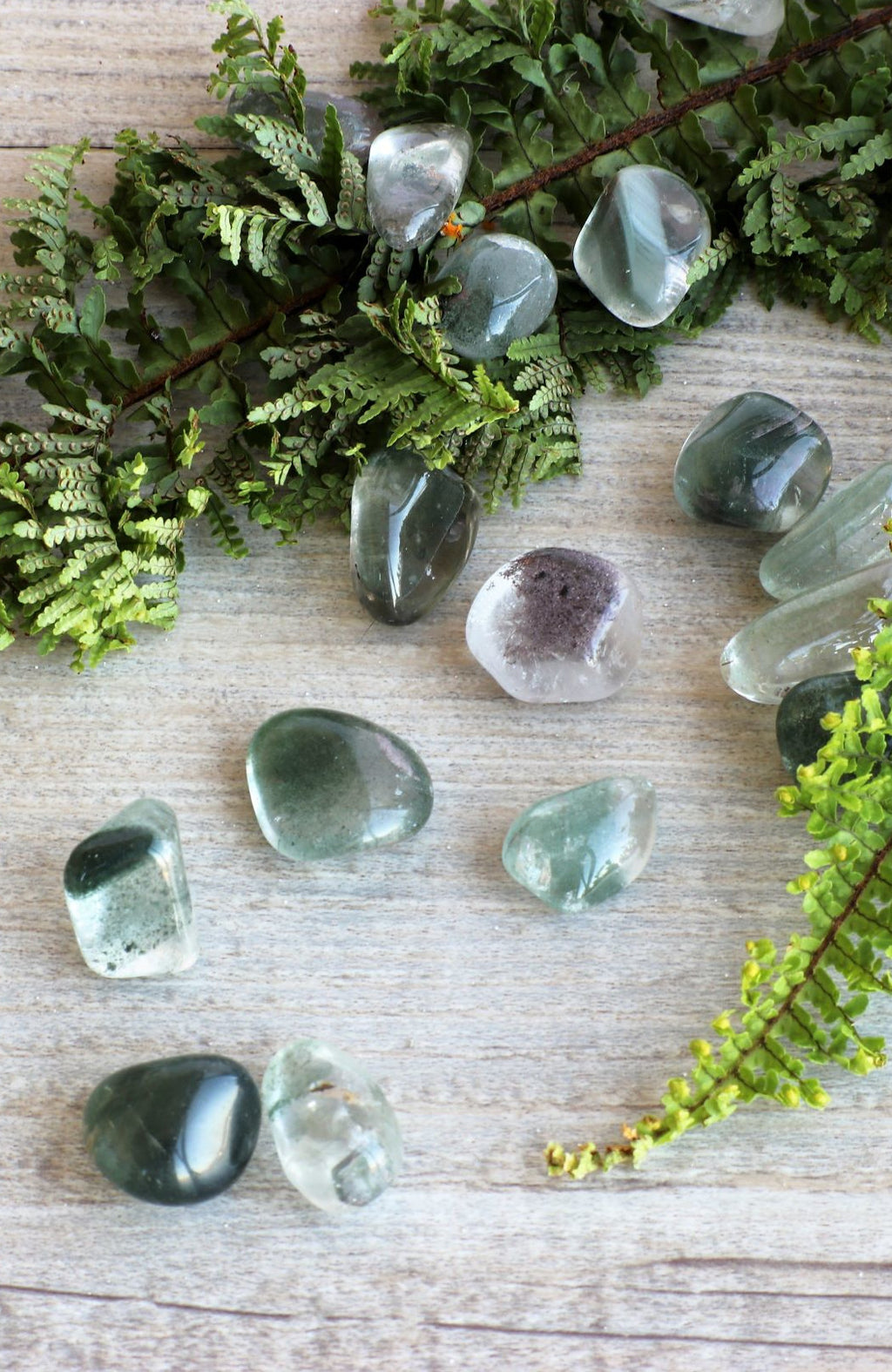 Chlorite Quartz Tumbled Stone (Pack of 6)