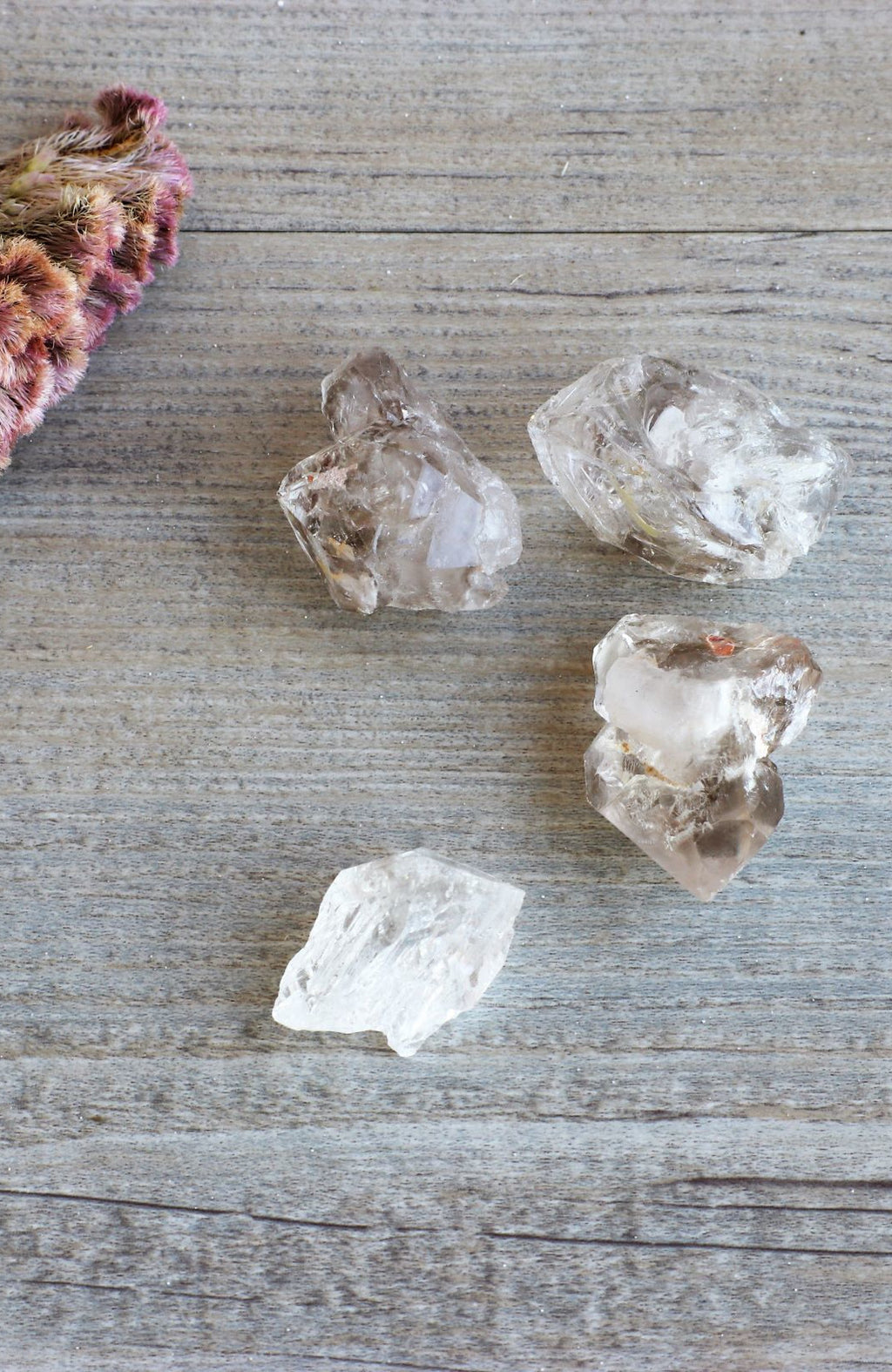 Elestial Quartz Points