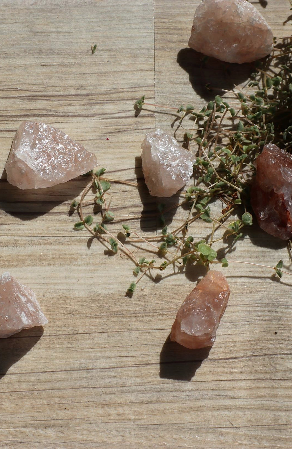 Morganite Raw Stone